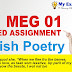 British Poetry Solved Assignment 2020
