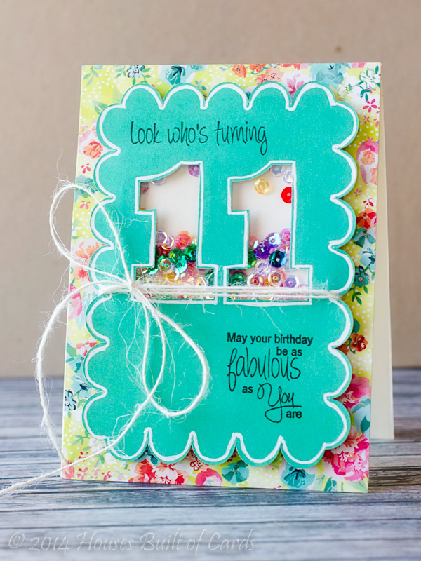 The New Build A Birthday Stamp Set Had EXACTLY What I Need For My Sentiments LOVE When Things Work Out That Way