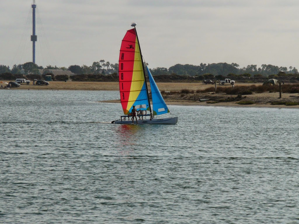 Sailboat on Mission Bay