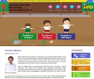 Pendaftaran Peserta Didik TK Negeri di Kota Semarang Tahun 2019