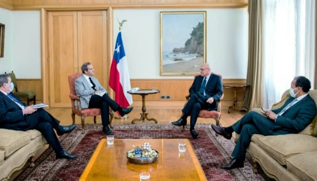 Chile y Perú acuerdan fortalecer sus relaciones