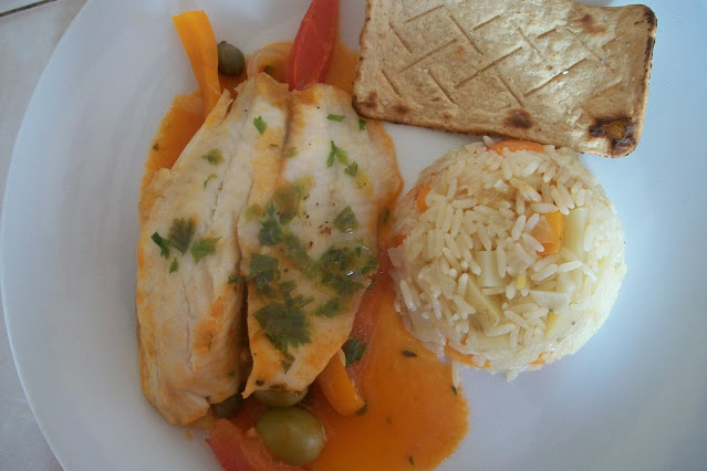 filetes de pescado al vapor receta peruana