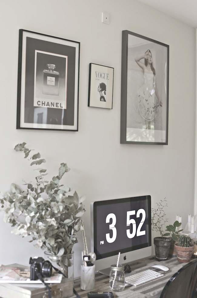 DIY desk by Anya adores design