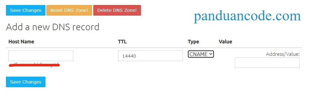 Setting DNS Email Hosting Free