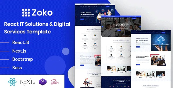 Best IT Solutions Digital Services Template