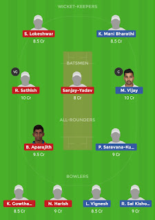 Dream11 team for VBK vs RUB 28th Match | Fantasy cricket tips | Playing 11 | TNPL Dream11 Team | dream11 prediction |