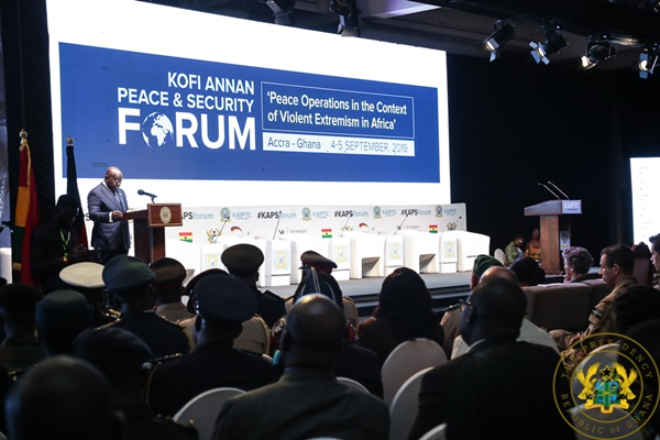 """Terrorism Fight Not Limited To Military Means Only"" – President Akufo-Addo"