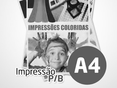 Impressão P/B Frente e Verso - R$ 0,10 a página