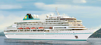 Phoenix Reisen's Amera (previously Holland America's Prinsendam to visit New York in 2021 as part of World Cruise and New England Canada cruise