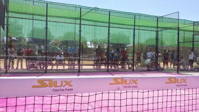 Pistas de Tenis en el Complejo Alcántara