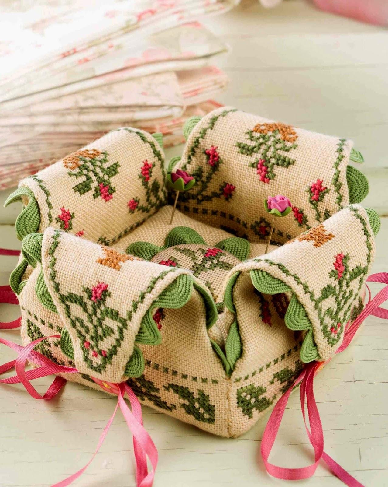 вышивка крестиком схема чайник