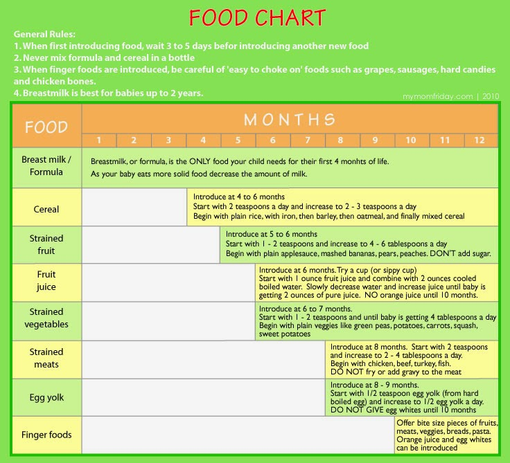 Month Baby Solid Food Recipes