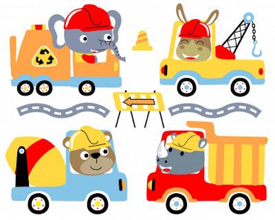 قصه باللغه الانجليزيه السيارة الحمراء وعربة الحمير The red car and the donkey cart