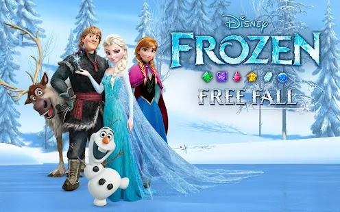 Disney Frozen Free Fall Screenshot