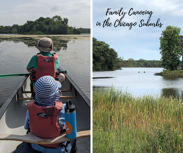 One, Two, Three, Switch: Family Canoeing Resources in the Chicago Suburbs by Shylo Bisnett