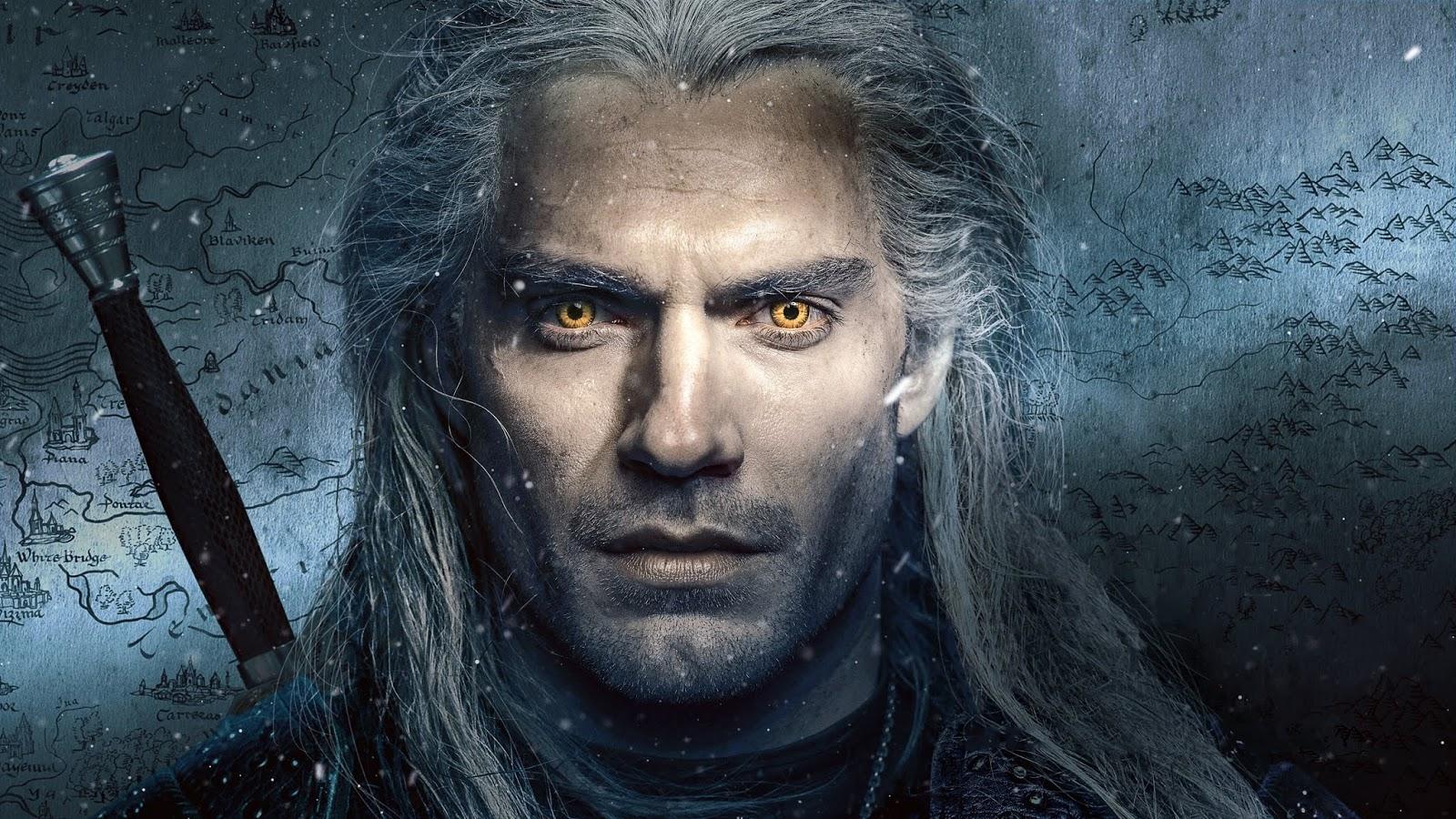 Henry Cavill The Witcher Netflix Wallpaper 4k