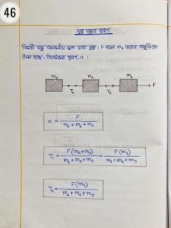 এইচ এস সি পদার্থবিজ্ঞান ১ম পত্র নোট |একাদশ-দ্বাদশ শ্রেণির পদার্থবিজ্ঞান ১ম পত্র নোট সম্পূর্ণ বই