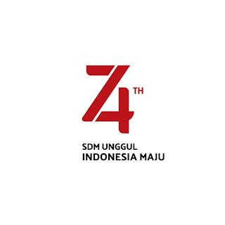 Logo Resmi HUT RI ke 74 Revisi (Valid)  + File Billboard, Poster, Umbul, Spanduk, Font dll. 6