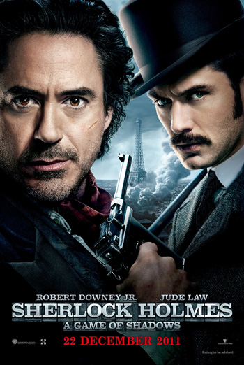 Sherlock Holmes: A Game of Shadows 2011 Dual Audio ORG Hindi 480p BluRay 450MB ESubs poster