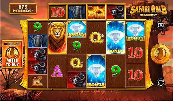 Main Gratis Slot Indonesia - Safari Gold Megaways (Blueprint Gaming)