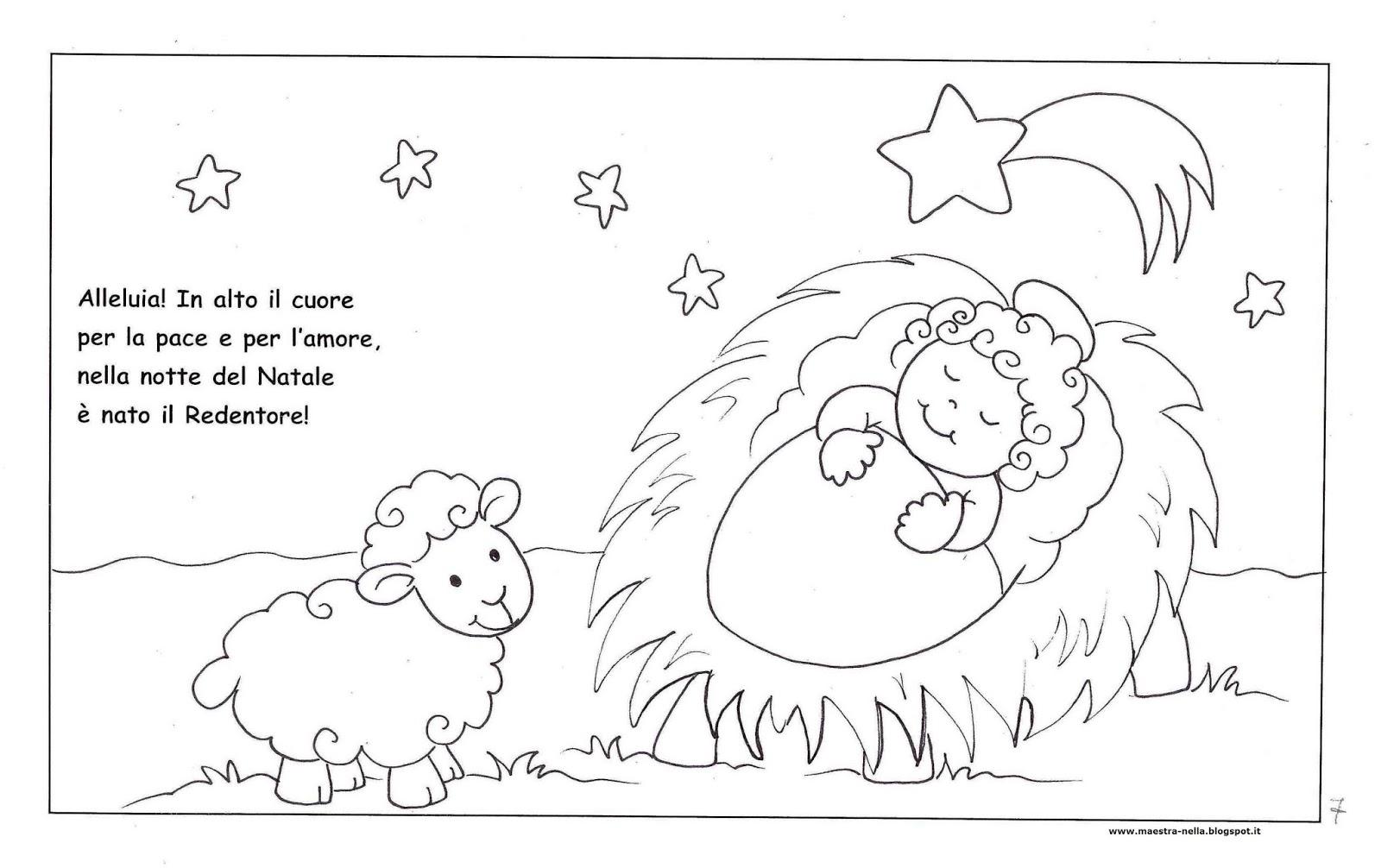 Giochi di natale da colorare for Lavoretti natale scuola infanzia maestra mary