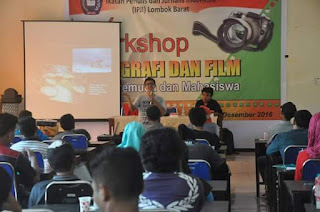 IPJI Lobar Gelar Workshop Fotografi Dan Film