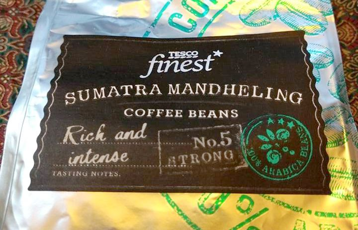 Smell The Tea And Coffee Tesco Finest Sumatra Mandheling