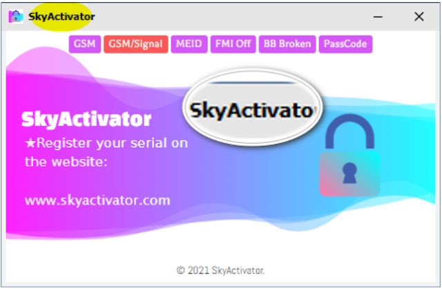 SkyActivator Tool GSM iCloud Bypass with SIGNAL for FREE Download