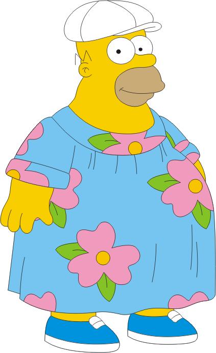 Disfraces Simpson Bart Lisa - Disfraces-simpsons