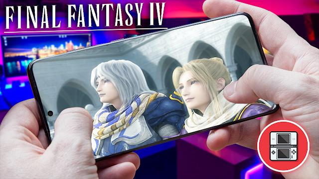 Final Fantasy IV Para Teléfonos Android (ROM NDS)