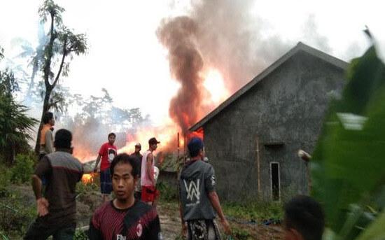 Kebakaran di Tlagasana, Watukumpul