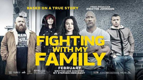 Review Fighting With My Family