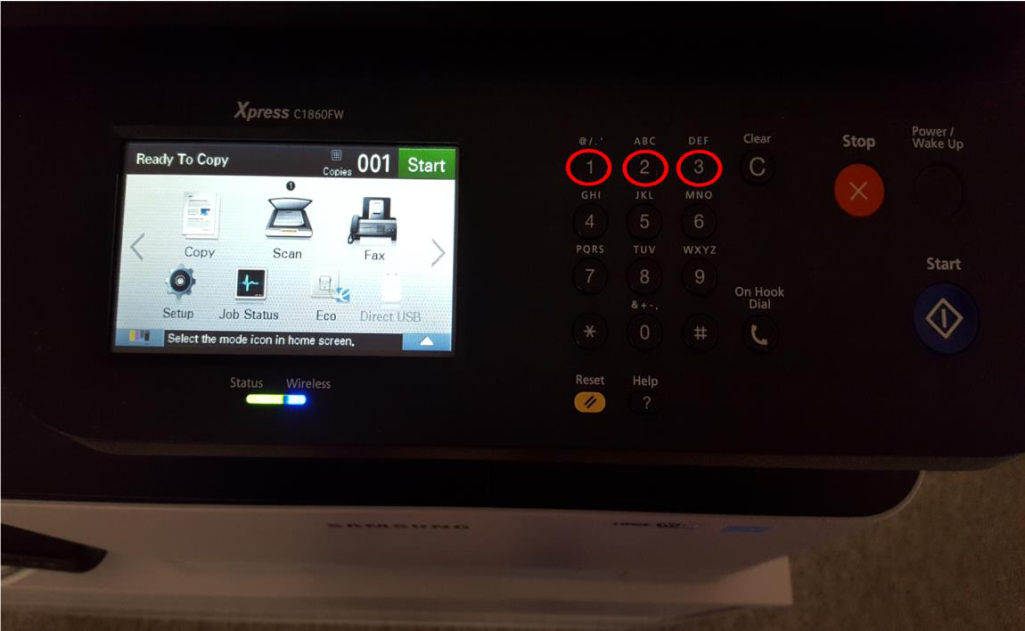 proposals and solutions for printer from EBY: Factory reset