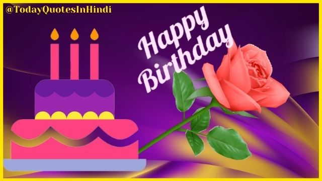 Happy Birthday Wishes With Chocolates And Flowers