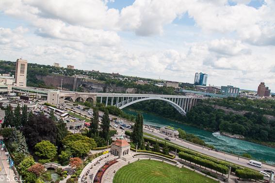 Rainbow bridge. Cataratas Niagara