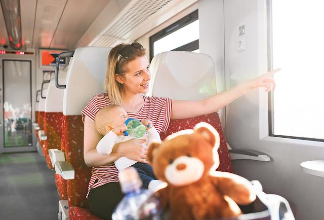 Calatoria cu trenul: cum sa te bucuri de ea impreuna cu micutul tau