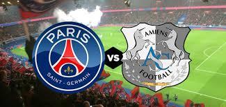 مباراة باريس سان جيرمان واميان الان