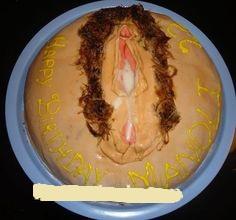 A Horniest Cunt Cake