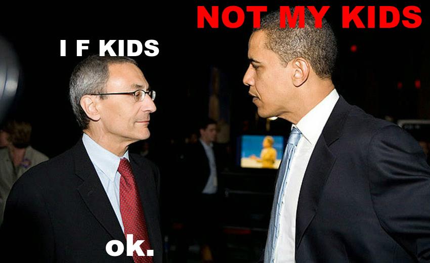 pizzagate meme John Podesta Barack Obama