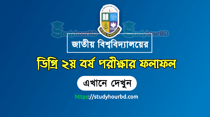 NU Degree 2nd Year Result 2018