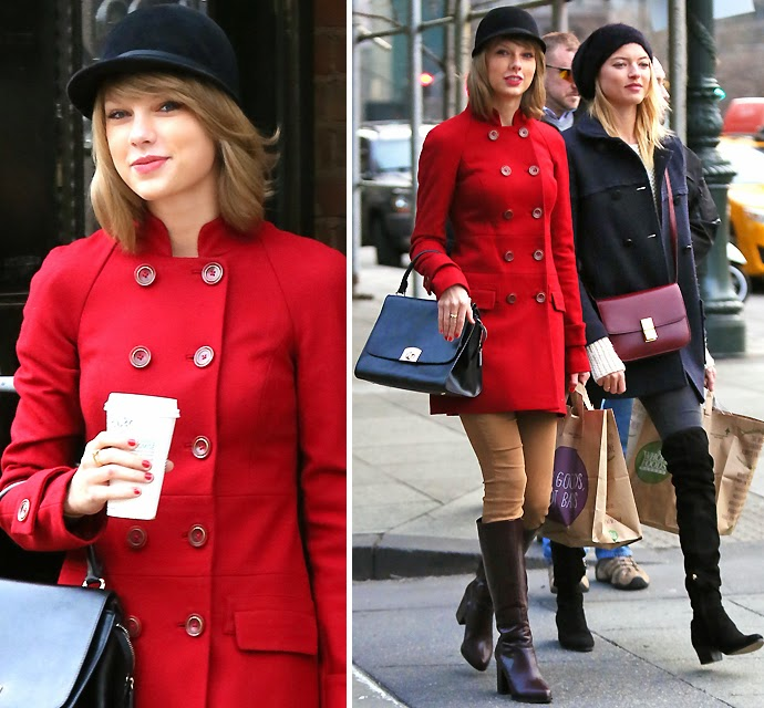 Taylor Swift Is bright In Red within the big apple