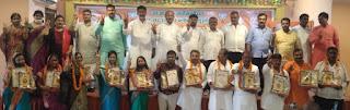 भाजपा ने जिला पंचायत सदस्य, ब्लॉक प्रमुख को किया सम्मानित  | #NayaSaberaNetwork