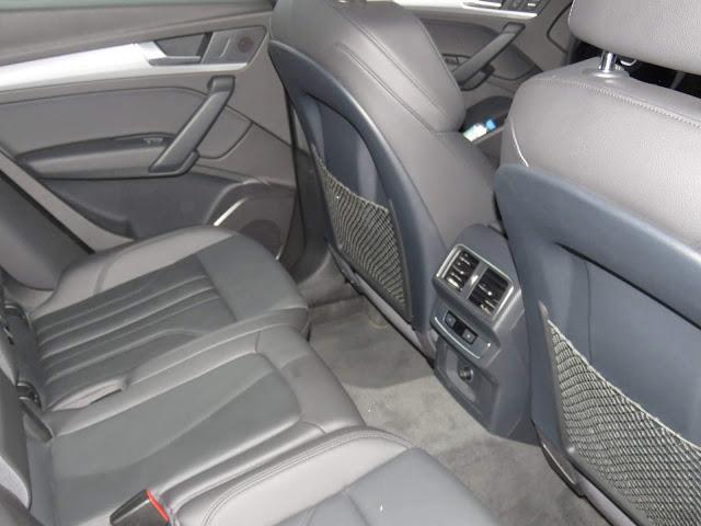 Novo Audi Q5 2018 - espaço traseiro