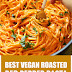 Best Vegan Roasted Red Pepper Pasta #vegan #glutenfree