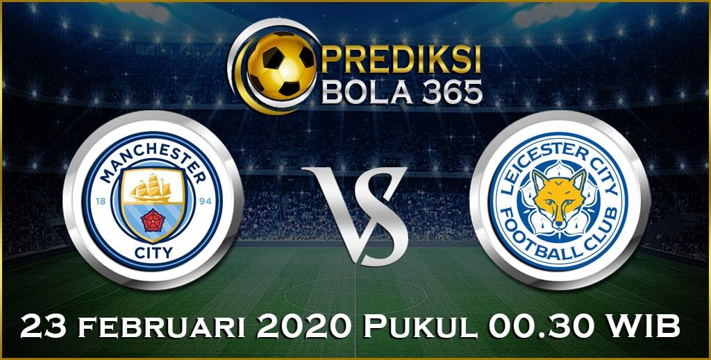 Prediksi Skor Bola Leicester vs Manchester City 23 February 2020