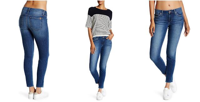 Joe's Jeans Raw Ankle Cut Skinny Jeans $42 (reg $169)