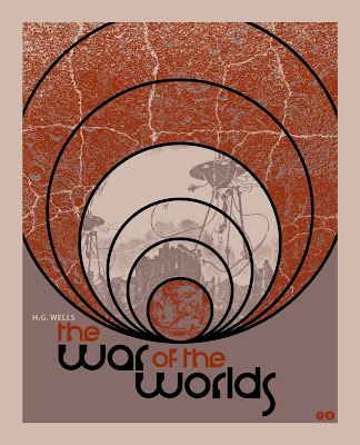 War of the Worlds Print by Chris Garofalo x Grey Matter Art