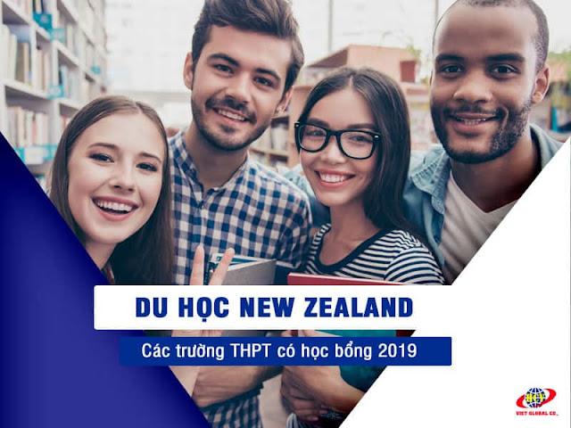 Du học New Zealand: Học bổng THPT các trường 2019