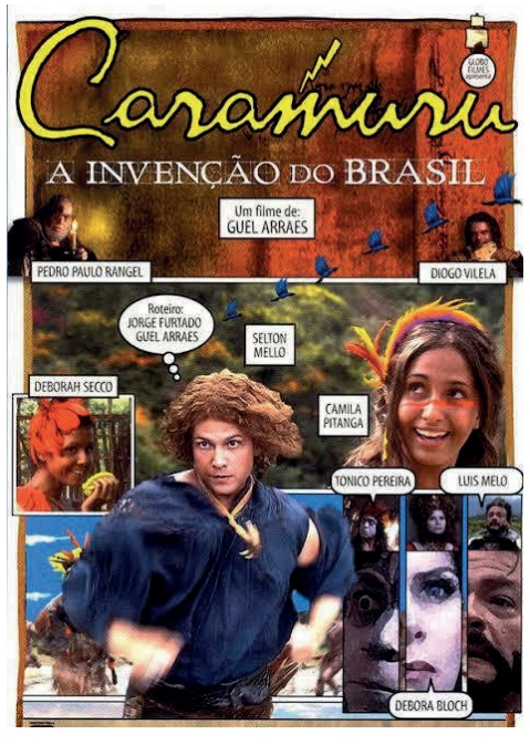 """Cartaz do filme """"Caramuru: a invenção do Brasil"""""""