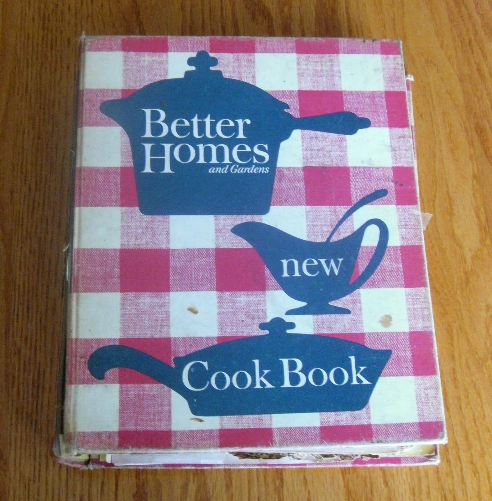 Better homes cookbook